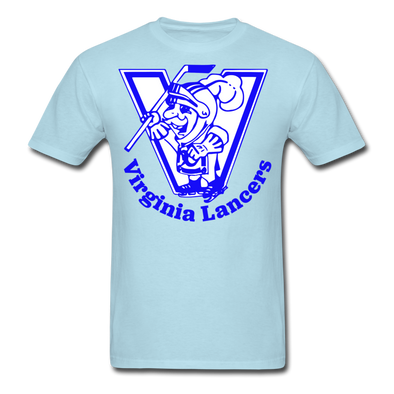 Virginia Lancers Knight T-Shirt - powder blue