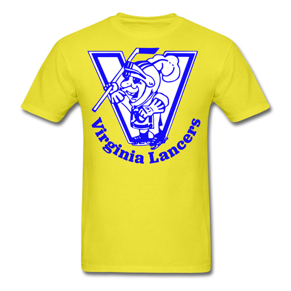 Virginia Lancers Knight T-Shirt - yellow