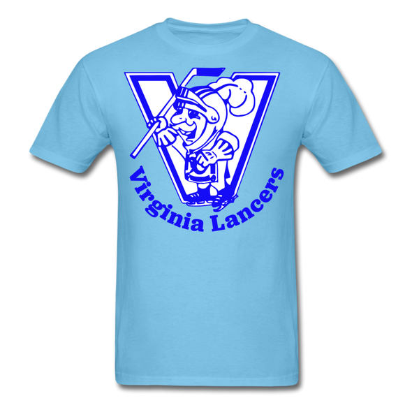 Virginia Lancers Knight T-Shirt - aquatic blue