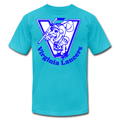 Virginia Lancers Knight T-Shirt (Premium) - turquoise