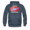 Peoria Prancers Hoodie (Premium) - heather denim