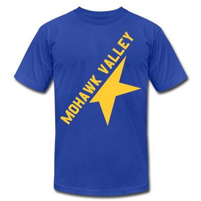 Mohawk Valley Stars T-Shirt (Premium) - royal blue