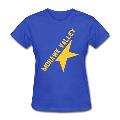 Mohawk Valley Stars Women's T-Shirt - royal blue