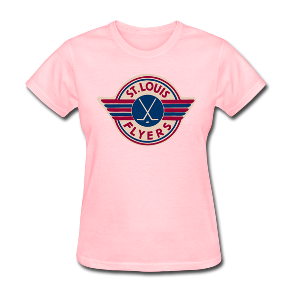 St. Louis Flyers Women's T-Shirt - pink