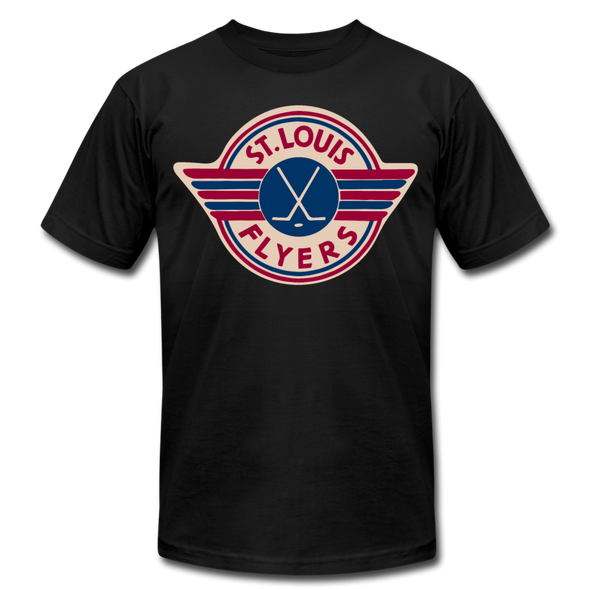St. Louis Flyers T-Shirt (Premium) - black