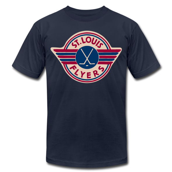 St. Louis Flyers T-Shirt (Premium) - navy