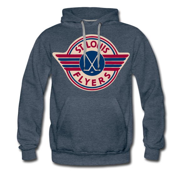 St. Louis Flyers Hoodie (Premium) - heather denim