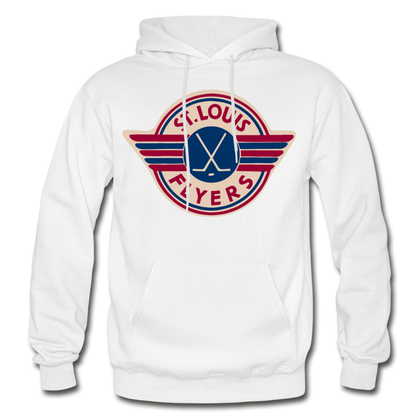 St. Louis Flyers Hoodie - white