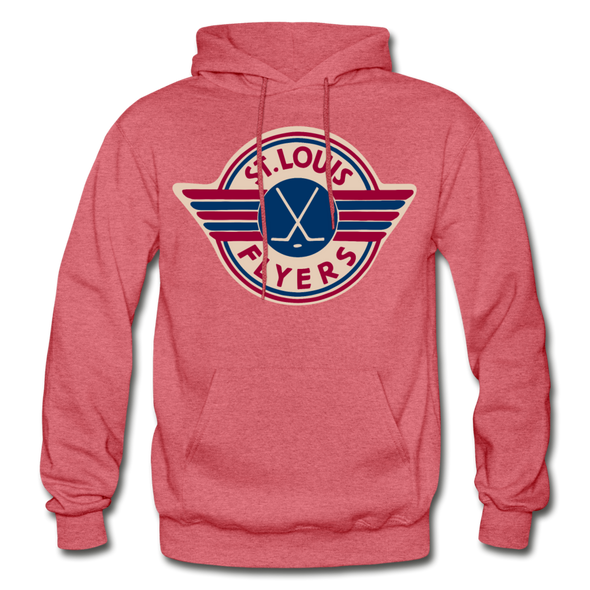 St. Louis Flyers Hoodie - heather red