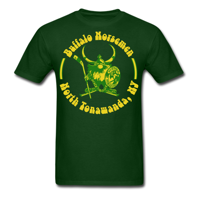 Buffalo Norsemen Circular T-Shirt - forest green