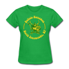 Buffalo Norsemen Circular Women's T-Shirt - bright green