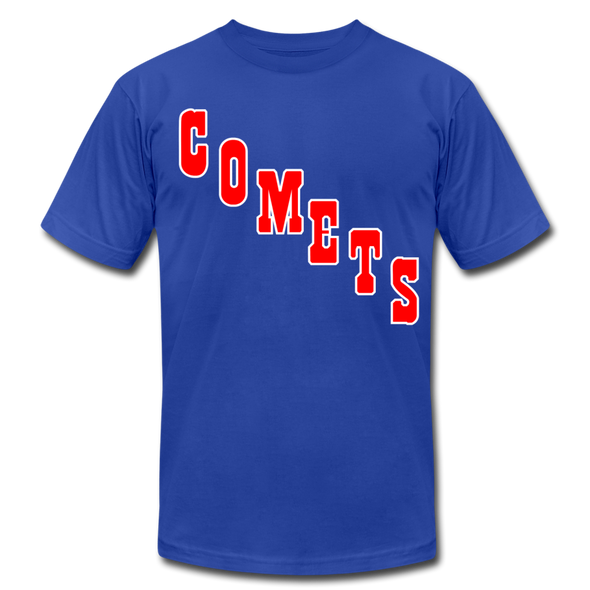 Clinton Comets T-Shirt (Premium) - royal blue