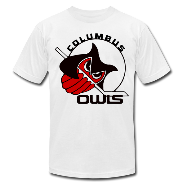 Columbus Owls T-Shirt (Premium) - white