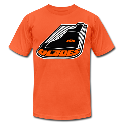 Erie Blades T-Shirt (Premium) - orange