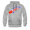Jacksonville Rockets Hoodie (Premium) - heather gray