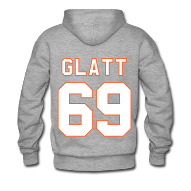 Halifax Highlanders Glatt 69 Hoodie (Premium) - heather gray