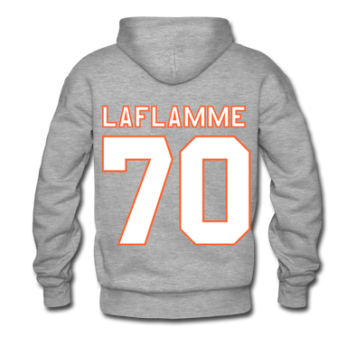 Halifax Highlanders Laflamme 70 Hoodie (Premium) - heather gray