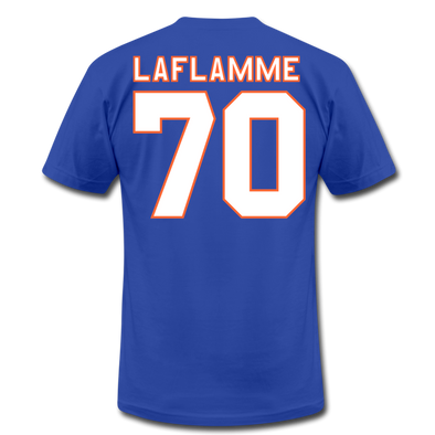 Halifax Highlanders Laflamme 70 T-Shirt (Premium) - royal blue