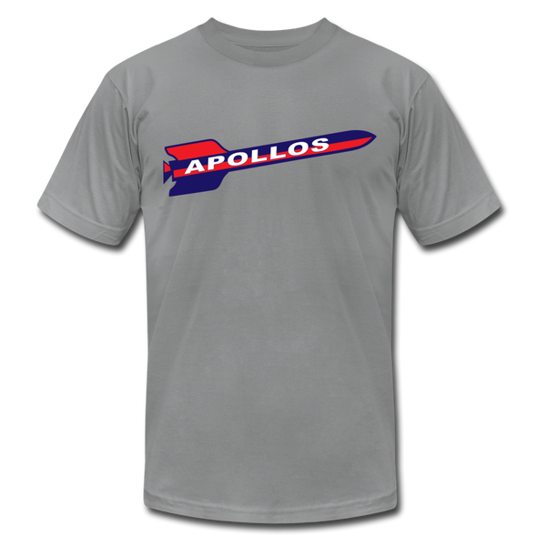 Houston Apollos Rocket T-Shirt (Premium) - slate