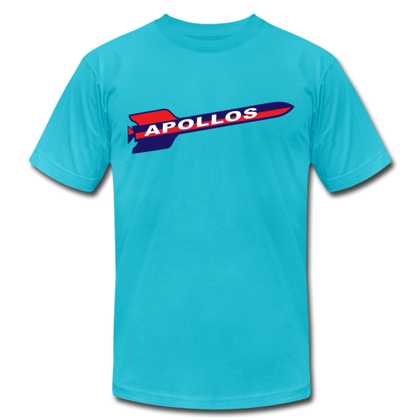 Houston Apollos Rocket T-Shirt (Premium) - turquoise