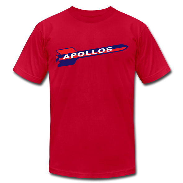 Houston Apollos Rocket T-Shirt (Premium) - red