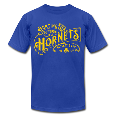 Huntington Hornets T-Shirt (Premium) - royal blue