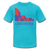 Indianapolis Checkers T-Shirt (Premium) - turquoise
