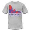 Indianapolis Checkers T-Shirt (Premium) - heather gray
