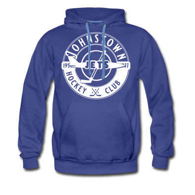 Johnstown Jets Circular Dated Hoodie (Premium) - royalblue