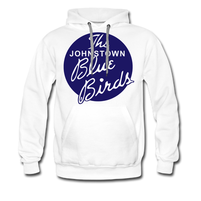 Johnstown Blue Birds Hoodie (Premium) - white