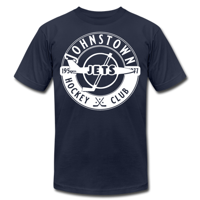 Johnstown Jets Circular Dated T-Shirt (Premium) - navy