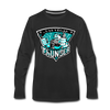 Las Vegas Thunder Boom Boom The Bear Long Sleeve T-Shirt (Premium) - black