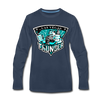 Las Vegas Thunder Boom Boom The Bear Long Sleeve T-Shirt (Premium) - navy