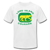 Long Island Cougars Distressed T-Shirt (Premium) - white