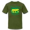 Long Island Cougars Distressed T-Shirt (Premium) - olive