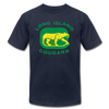 Long Island Cougars Distressed T-Shirt (Premium) - navy