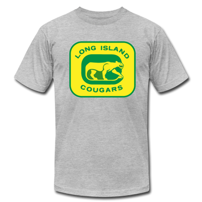 Long Island Cougars T-Shirt (Premium) - heather gray
