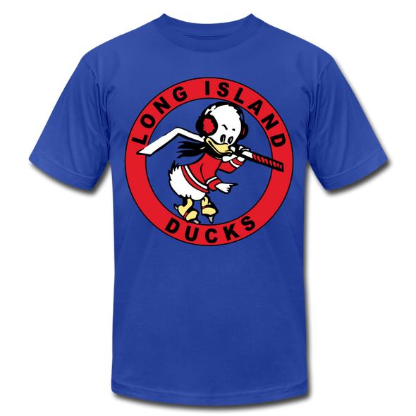 Long Island Ducks 1960s T-Shirt (Premium) - royal blue