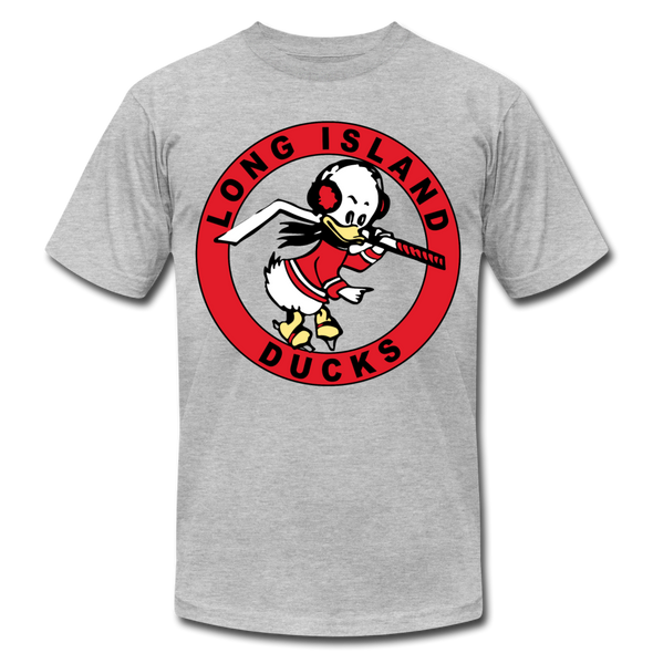 Long Island Ducks 1960s T-Shirt (Premium) - heather gray