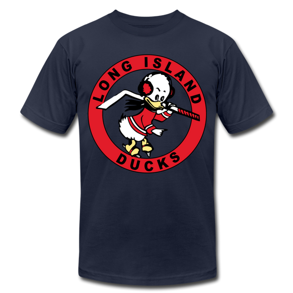 Long Island Ducks 1960s T-Shirt (Premium) - navy