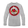 Long Island Ducks 1970s Long Sleeve T-Shirt (Premium) - heather gray