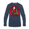 Long Island Ducks 1970s Long Sleeve T-Shirt (Premium) - navy