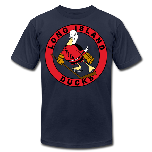 Long Island Ducks 1970s T-Shirt (Premium) - navy