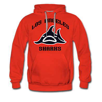 Los Angeles Sharks Hoodie (Premium) - red