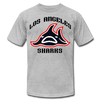 Los Angeles Sharks T-Shirt (Premium) - heather gray