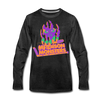 Madison Monsters Halloween Long Sleeve T-Shirt (Premium) - charcoal gray