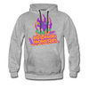 Madison Monsters Halloween Hoodie (Premium) - heather gray