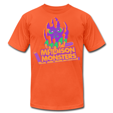 Madison Monsters Halloween T-Shirt (Premium) - orange