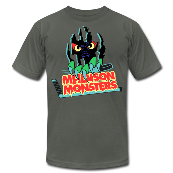 Madison Monsters T-Shirt (Premium) - asphalt
