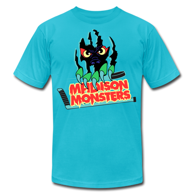Madison Monsters T-Shirt (Premium) - turquoise
